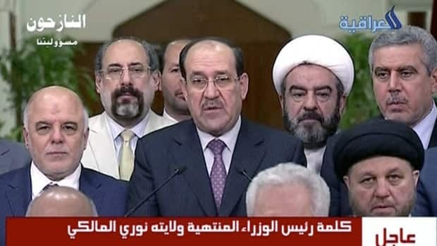 Nouri al-Maliki steps down as Iraq's PM