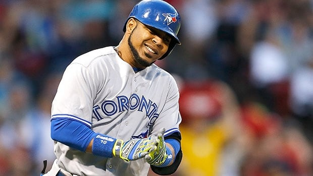 Edwin Encarnacion leads the Jays with 26 homers this season.