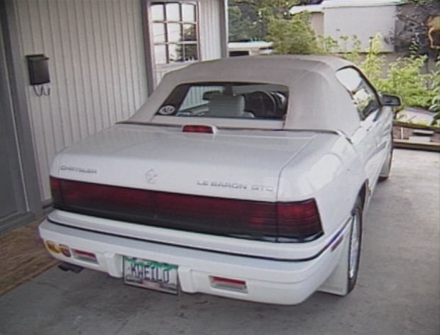 Nick and Lisa Masee's car 1994