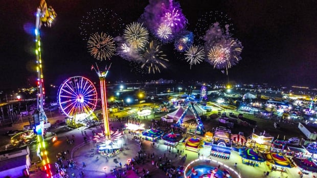 Nick Biblow captured this photo at the Saskatoon Ex using his drone.