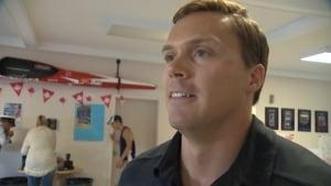 Olympic paddler Mark de Jonge