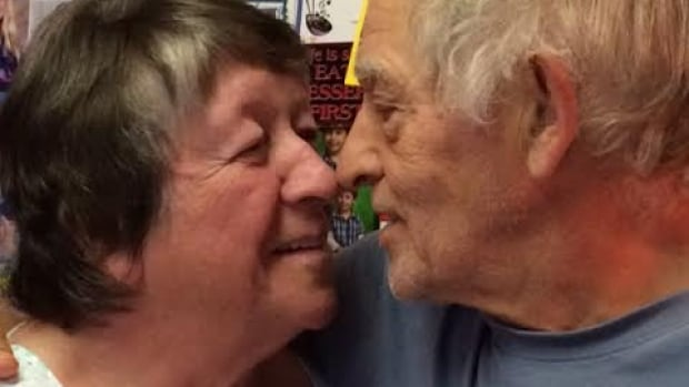 Marie and Thom Stewart have been married for 53 years.