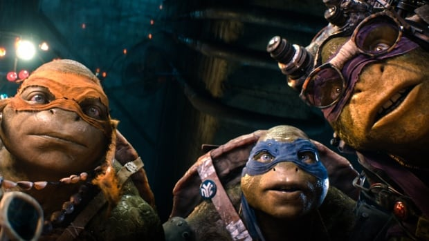 Paramount Pictures' rebooted reptiles took in $28.4 million in the film's second weekend, according to studio estimates Sunday.