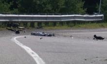 Fatal motorcycle crash Highway 50 Gatineau Lorrain Aug 18 2014