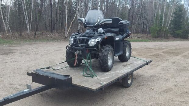 Right now, many ATVers in North Bay have to load their ATV onto a truck and trailer to access trails, since they can't ride there on the roads.