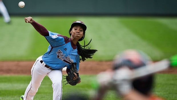 "With her 70-mile-per-hour fastball and curveball, Philadelphia pitcher Mo'ne Davis has become a must-see performer at this year's Little League World Series in South Williamsport, Pa. ""She's unflappable,"" says Philadelphia manager Alex Rice."
