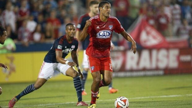Calgary-born FC Dallas forward Tesho Akindele is the Major League Soccer player of the week.