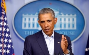 Obama at White House on Michael Brown shooting