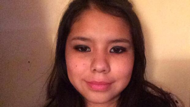 Tina Fontaine is shown in this Facebook profile picture from January of this year. Her body was discovered in a bag in the Red River over the weekend. Winnipeg police believe she was killed.