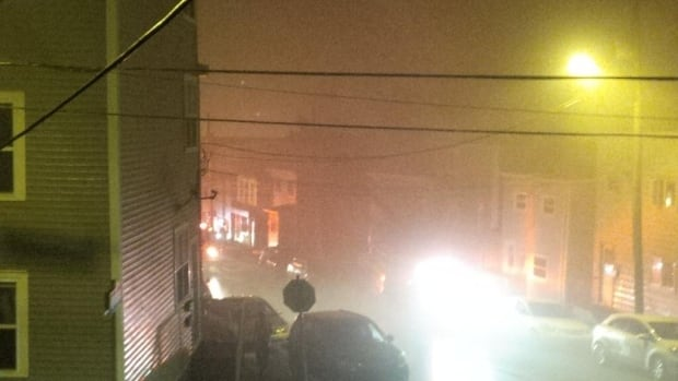 There was another fire in downtown St. John's last night, this time on Boncloddy Street.