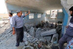 SYRIA-CRISIS RAQQA ISIS airstrikes