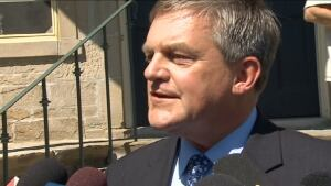 New Brunswick Premier David Alward