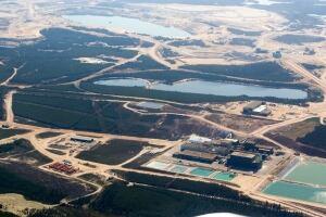 Uranium mine Key Lake Cameco