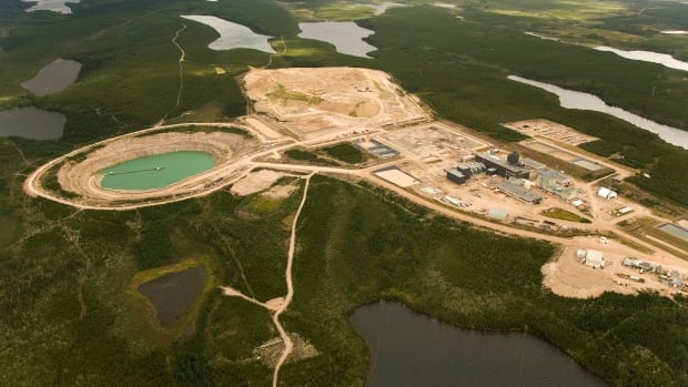AREVA's McClean Lake tailings management facility in northern Saskatchewan is one of three sites at the province with where uranium waste is still being deposited in tailings ponds.