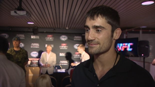 Charlottetown, P.E.I.'s Jason Saggo will be one of the fighters at UFC Fight Night in Halifax on Saturday, Oct. 4.