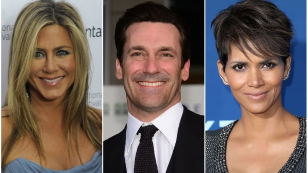 Jennifer Aniston, Jon Hamm, Halle Berry are among the stars slated to appear on Stand Up to Cancer, the hour-long telethon set to air Sept. 5 on CBC-TV.