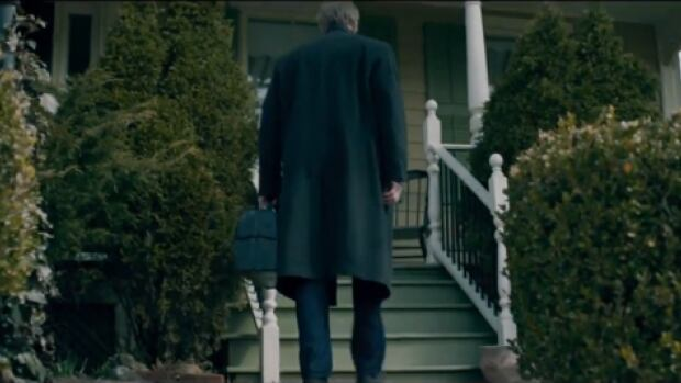 """A screenshot from the trailer from the upcoming film """"The Calling"""" shows the front of a local bed-and-breakfast called Dundas Glen."""