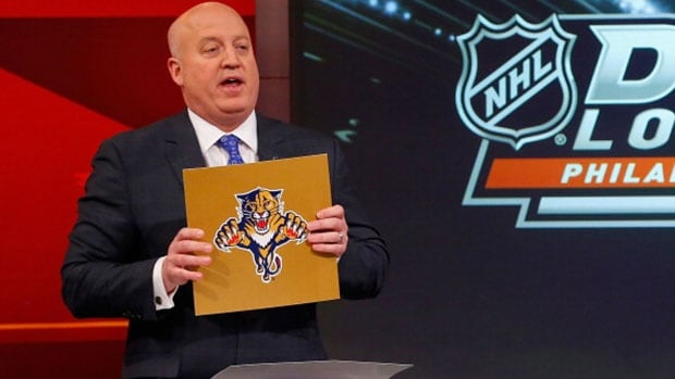 Beginning in 2015, the team that finishes with the fewest points will have a 20 per cent chance of earning the No. 1 overall pick, down from 25 in 2014 when the Florida Panthers had the top selection.