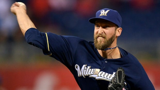 Brewers reliever Jim Henderson has had a procedure to clean up the labrum and rotator cuff in his right (throwing) shoulder. The Calgary native will need about four months of recovery time.