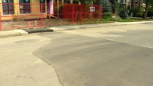 Bumpy roads are becoming more commonplace in Calgary as many neighbourhood streets are ripped up for construction of duplexes, or other housing projects, in the inner-city.