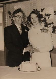 Gillian Bennett and husband Jonathan