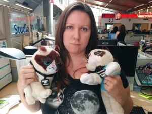 Grumpy Cat Superfan Andrea Ford
