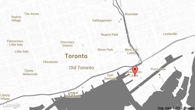 Cirque du Soleil Toronto map