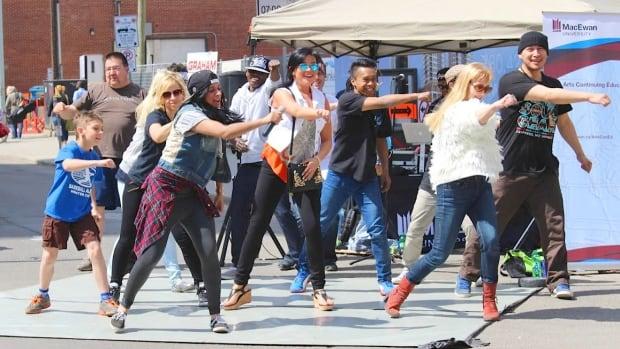 The MacEwan Dancers will perform at the 104th Street Market on Saturday.
