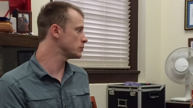 Sgt. Bowe Bergdahl, in this August 2014 photo provided by his lawyer, prepares to be interviewed by Army investigators. Republican lawmakers, angry over the prisoner swap that ensured his release from Taliban captivity, requested the accountability assessment.