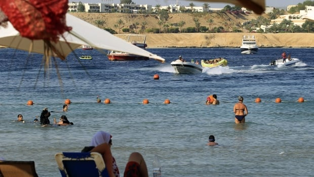 A head-on collision between two tour buses in Egypt have killed 33 people and injured at least 44 others near Pthe Red Sea resort of Sharm el-Sheikh, pictured above, in the South Sinai.