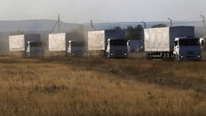 Russian aid convoy