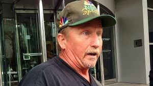 Trucker Steve Panchuk