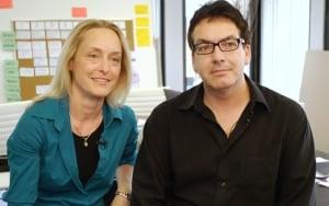 Stephanie Morgenstern and Mark Ellis