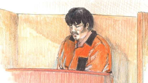 Melvin Mitchell was given back-to-back life sentences in the murders of two men in Edmonton last year.