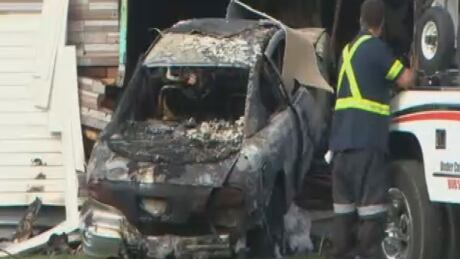 Oshawa car crash