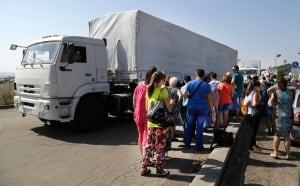 Ukraine Russia convoy
