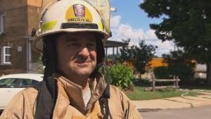 Alain St-Jacques Lachute fire department