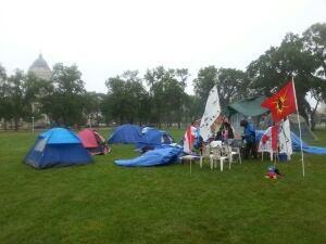 Protest camp, Memorial Park