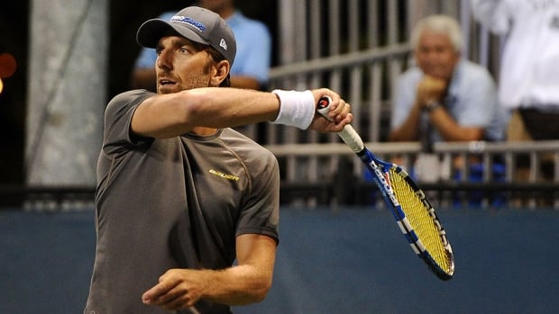 Rangers goalie Henrik Lundqvist attends the Johnny Mac Tennis Project Benefit in New York City to support a charity and keep up with his off-season training ahead of next month's NHL training camp.