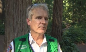 Lynn Canyon woman's rescue - Asst. Fire Chief Mike Cairns