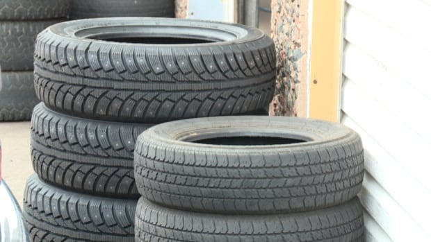 The recycling fee for new tires is going up on Sept. 1.