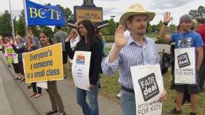 B.C. teachers' strike: picket lines to resume Aug. 25