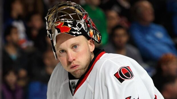 Senators goalie Craig Anderson has agreed to a three-year contract extension worth $12.6 million US. He had an NHL-best .941 save percentage in the lockout-shortened 2013 season but saw that mark fall to .911 during the 2013-14 campaign.