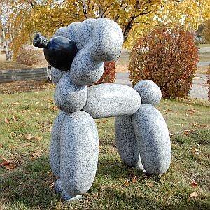 Balloon animal sculpture