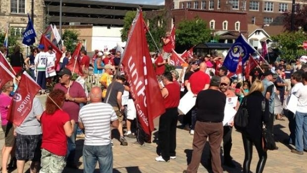 Unifor members working for Bombardier have been on strike since July 14.