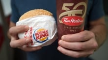 Tim Hortons Burger King