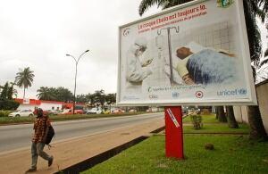 Ivory Coast  Ebola Awareness Campaigns