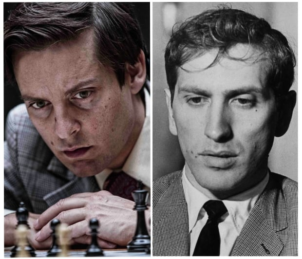 Tobey Maguire is Bobby Fischer