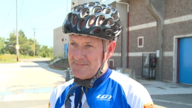 Cyclist Jim Shatford says he sometimes has had to ride his bike on the sidewalk because the bike lanes in Wolfville are too dangerous.