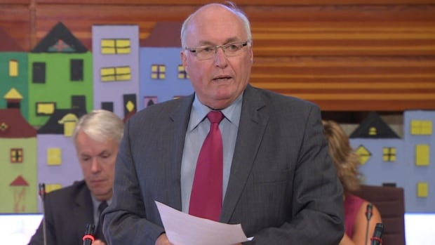 Tom Hann says St. John's city council cannot afford to pave roads in unserviced areas.